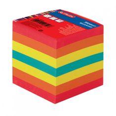 Herlitz papirna kocka, 9 x 9 x 9 cm, 700-listna, barvna