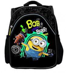 MINIONS ruksak, mali, 25 cm, crni
