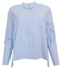 Mango Prúžkovaná košeľa Mango Modrá M, Rukáv: Dlhý