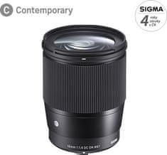 Sigma 16/1,4 DC DN Contemporary pre Canon M