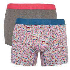 Levi's 2PACK pánske boxerky viacfarebné (905022001 005)