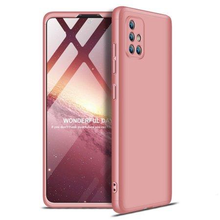 GKK 360 Full Body műanyag tok Samsung Galaxy A71, rózsaszín