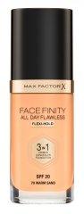 Max Factor Face Finity 3v1 tekoča podlaga za obraz, Warm Sand 70
