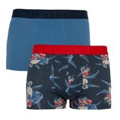 Levi's 2PACK pánske boxerky modré (905031001 003)