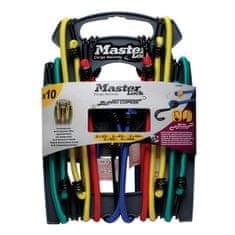 MasterLock Set 10 ks upínací gumy s háčky 3043EURDAT