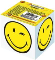 Herlitz Smiley World papirna kocka, 8 x 8 x 7 cm, 700-listna