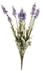 EverGreen Levandule x 12, výška 42 cm světlá fialová