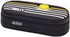 Herlitz Smiley B&Y peresnica, ovalna, s črtami