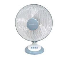 First Austria namizni ventilator, 30 cm, 3 hitrosti, 40 W, bel/siv