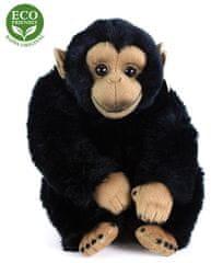 Rappa Plyšová opica sediaca, 25 cm, ECO-FRIENDLY.