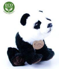 Rappa Plüss ülő vagy álló panda, 22 cm, ECO-FRIENDLY