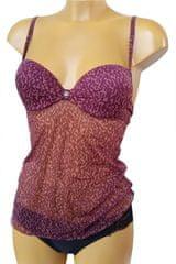 Sielei 4671 dámská košilka Barva: vínová, Příslušenství: 75B, Velikost: 2 roky