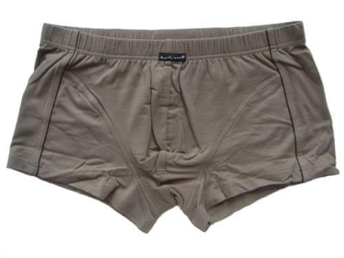 Robinson 3180 pánské boxerky Barva: šedá tmavá, Velikost oblečení: M