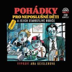 Dušan Tragel: Pohádky pro neposlušné děti a jejich starostlivé rodiče - 2 CD
