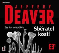 Jeffery Deaver: Sběratel kostí - CDmp3 (Čte Jan Vondráček)