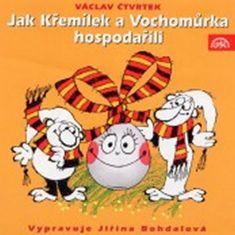 Jiřina Bohdalová: Jak Křemílek a Vochomůrka hospodařili - CD