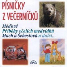 Různí interpreti: Písničky z Večerníčků - Včelí medvídci - CD