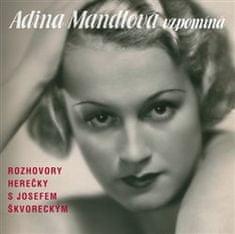 Adina Mandlová: Adina Mandlová vzpomíná - 3 CD