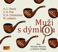 autorů kolektiv: Muži s dýmkou - CDmp3 (Čte Miroslav Moravec a Vladimír Brabec)