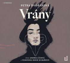 Petra Dvořáková: Vrány - CDmp3 (Čte Andrea Černá, Veronika Khek Kubařová)