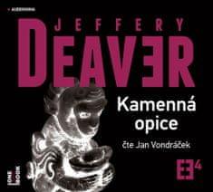 Jeffery Deaver: Kamenná opice - 2 CDmp3 (Čte Jan Vondráček)