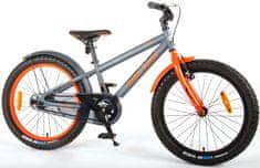Volare Detský bicykel pre chlapcov Rocky - sivý 20