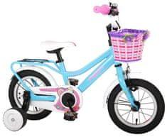 Volare Detský bicykel pre dievčatá Brilliant - modrý, 12
