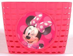 Volare Detský košík na bicykel - Disney Minnie