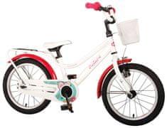 Volare Detský bicykel pre dievčatá Brilliant - biely, 16