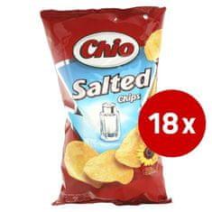 CHIO čips, soljen, 18 x 150 g