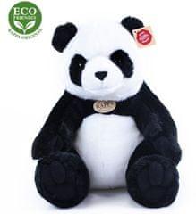 Rappa Plyšová panda sediaca, 31 cm, ECO-FRIENDLY