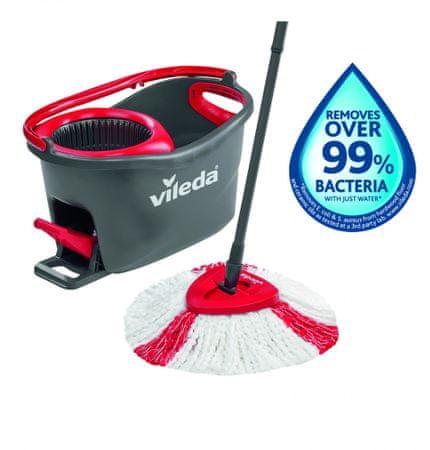 Vileda komplet za čišćenje podova Turbo (163422)