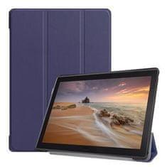Tactical Book Tri Fold Púzdro pre Huawei MediaPad M5 Lite 10 Blue (2445937)