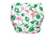 Simed Mila pelenka bugyi állítható méretű, Flamingo