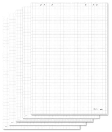 Sigel Flipchartový papír, čtverečkovaný, 68x98 cm, 5x20 listů