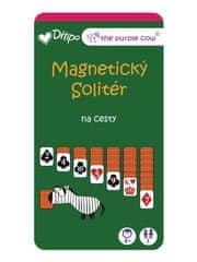 The Purple Cow Magnetický Solitér na cesty
