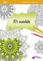 Ditipo ZEN relaxační omalovánky - Mandaly