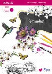 Ditipo Třpytivé omalovánky - Paradise