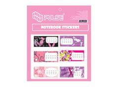 """Pulse Samolepící šítky na sešity """"Girls"""", 30ks"""