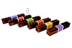 Sifcon Vonné tyčinky v darčekovej krabičke, 10 ks vonných tyčiniek, ROSE & BLACK OUD