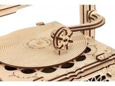 EWA ECO-WOOD-ART Otáčací stôl 3D mechanické puzzle