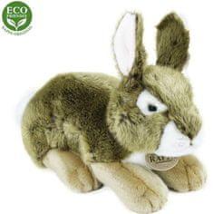 Rappa Plišasti sivi zajec, 25 cm, Eco-Friendly