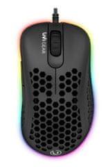 UVI Gear Lust gaming miška, črna