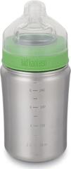Klean Kanteen KLEAN Kanteen - Dětská nerezová láhev - Baby Bottle w / Medium Flow Nipple, 266 ml