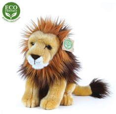 Rappa plišasti lev, sedeči, 18 cm Eco Friendly