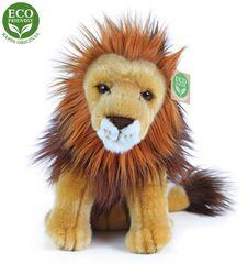 Rappa Plüss ülő oroszlán, 25 cm, ECO-FRIENDLY