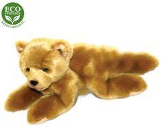 Rappa Eco-friendly plišasti medved, ležeč, 15 cm