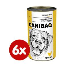 Dibaq CANIBAQ Classic drůbeží 6x1250 g