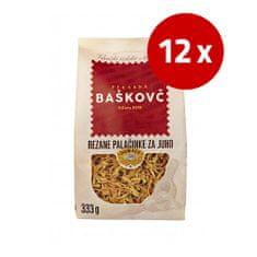Baškovč palačinke za juho, rezane, 12 x 333 g