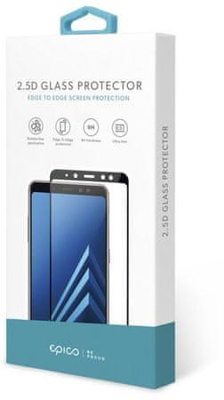 EPICO szkło ochronne 2,5D Glass Huawei P40 Lite E, czarne 47912151000002